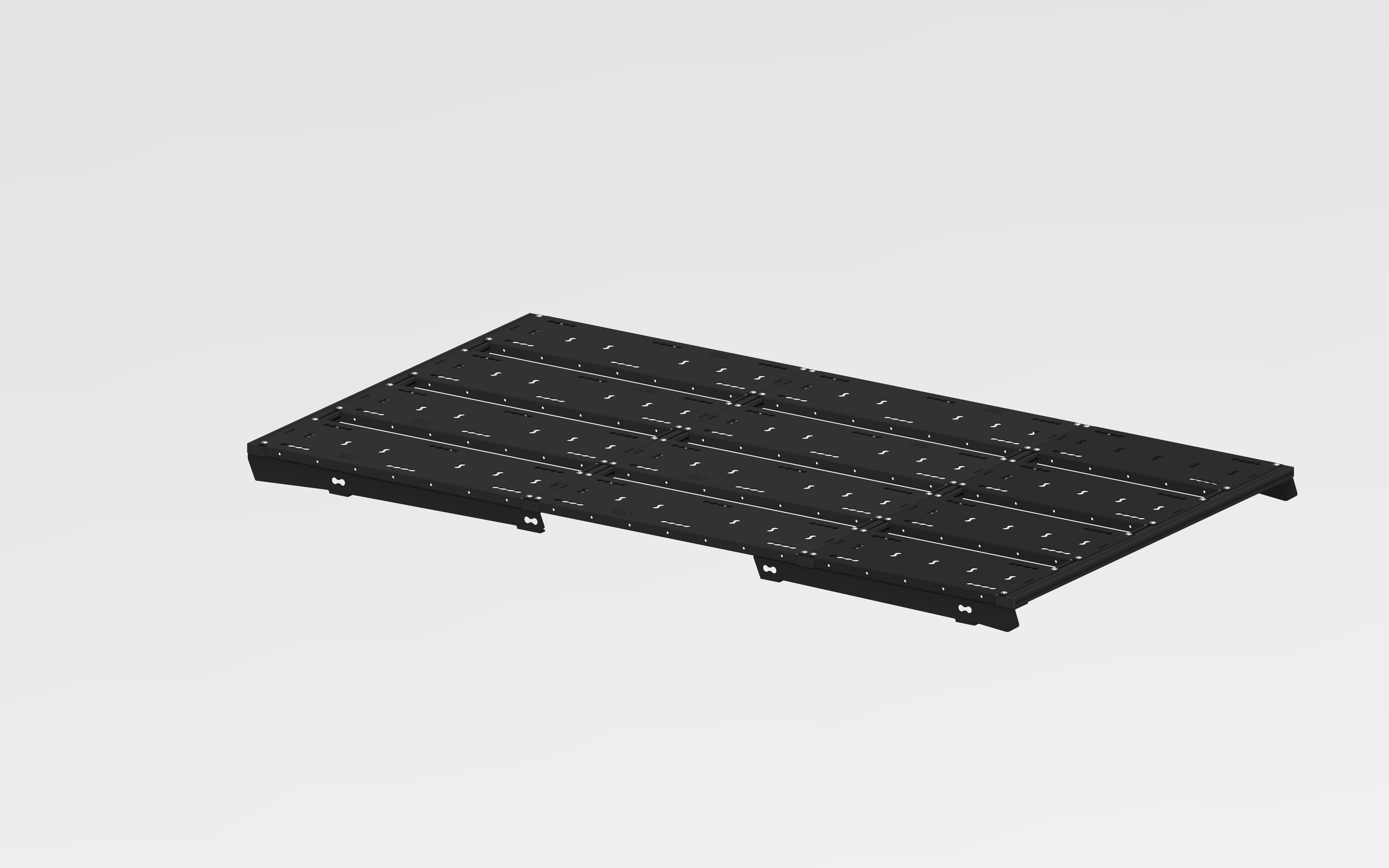 Dachträger Ford Transit Costum Tourneo - SpaceRack modular   ultraflach   robust  - Heckträger