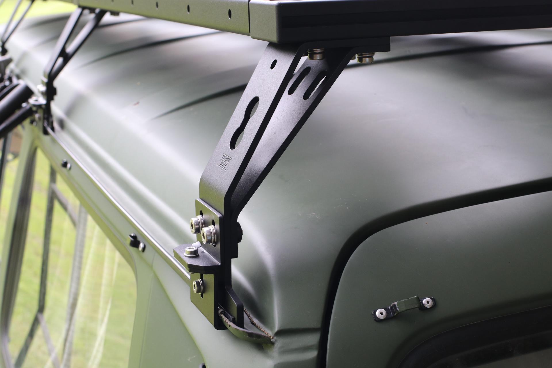 Dachträger Defender 110 Schiebedach frei  - SpaceRack modular | ultraflach | robust