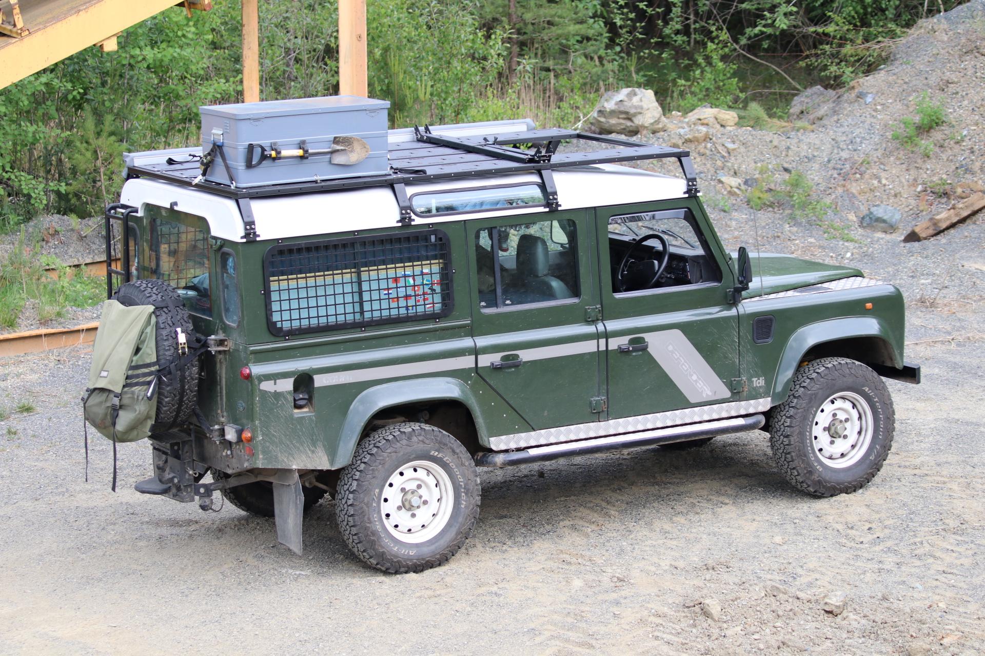 Dachträgersystem SpaceRack   Defender 90 110